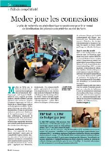 """""""Médée joue les connexions""""- Article sur le Pôle Médée dans Eco121 de Février 2012"""