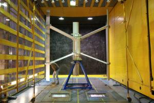 Test d'Eolienne Fairwind en laboratoire
