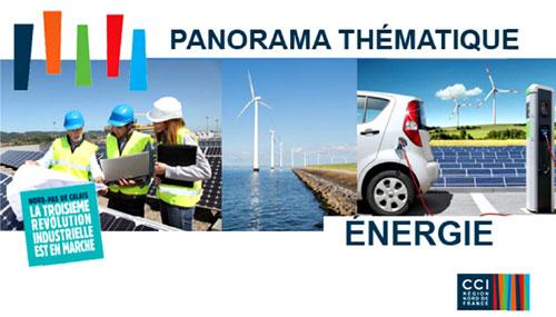 Publication CCI Nord de FrancePanorama Thématique Energie