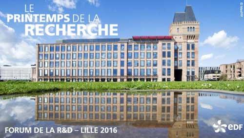 Forum R&D - LILLE - 2016