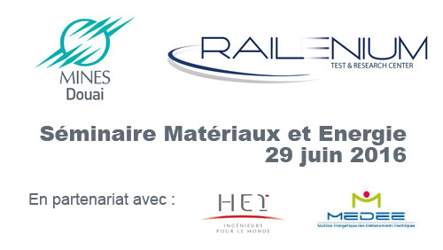 Séminaire Materiaux et Energie - 29/06/2016