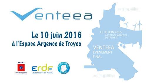Venteea événement final le 10 juin 2016