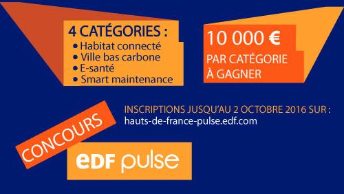 Concours EDF Pulse 2016