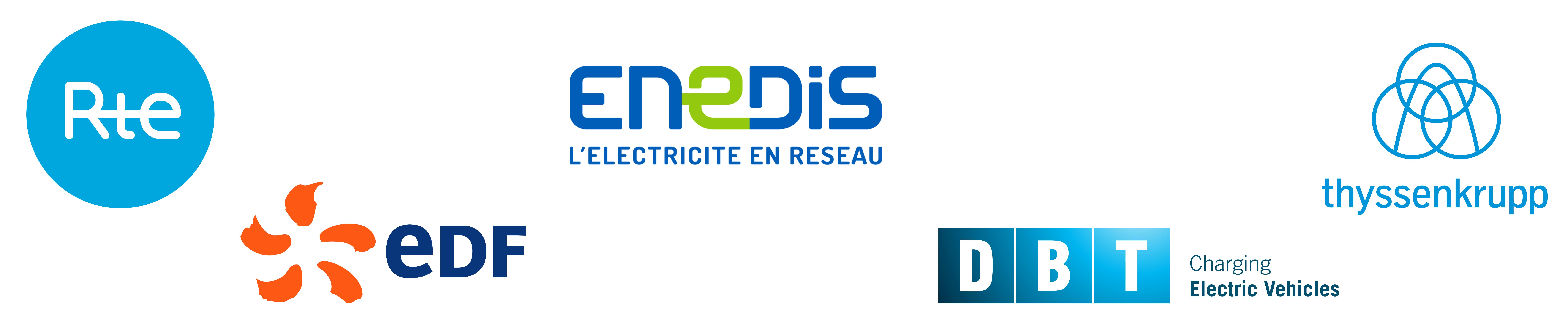 bandeau logos soutiens edf rte enedis dbt thyssenkrupp elctrical steel