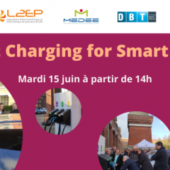 "Smart Charging for Smart Cities : restitution et échanges autour du projet ""Borne de Recharge Rapide Intelligente"" (B2RI)"