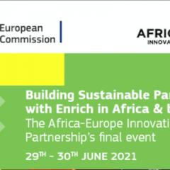 Le Pôle MEDEE interviendra lors de l'événement de clôture de l'Africa Europe Innovation Partnership