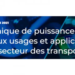 Webinaire - Electronique de puissance : nouveaux usages et applications pour les transports